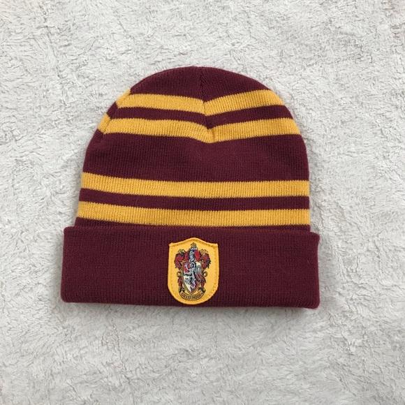 Kids Harry Potter Hogwarts Gryffindor Beanie Hat
